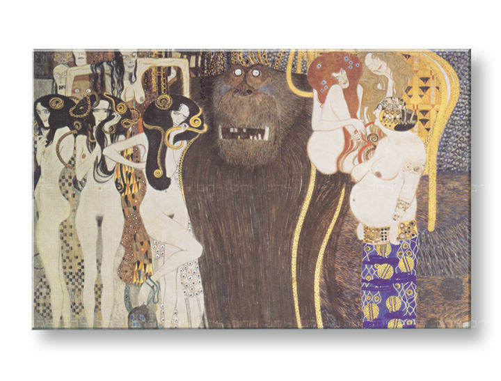 Πινακες σε καμβα THE BEETHOVEN FRIEZE - Gustav Klimt