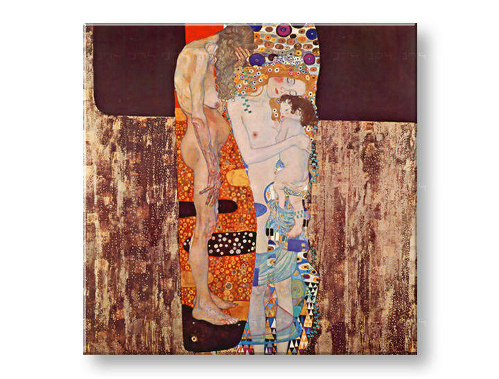Πινακες σε καμβα THREE AGES OF WOMAN - Gustav Klimt